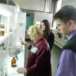 В лаборатории Кирсановского масложирового комбината