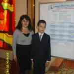 Сухарников Кирилл с научным руководителем Егоровой И.А.