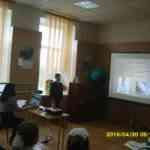 Сухарников Кирилл защищает работу