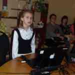 Патрина Валерия защищает работу