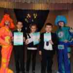 Ребята нашей школы на конкурсе