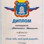 Диплом Косякиной Анастасии