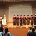Исполнение гимна студентов Gaudeamus