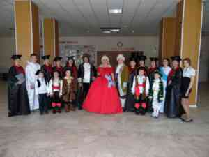 Участники театрализованного представления