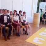 Овсянникова Елизавета и другие восемь участников перед состязаниями