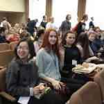 на встрече с писателями Беларуси