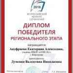 диплом Ануфриевой Е.